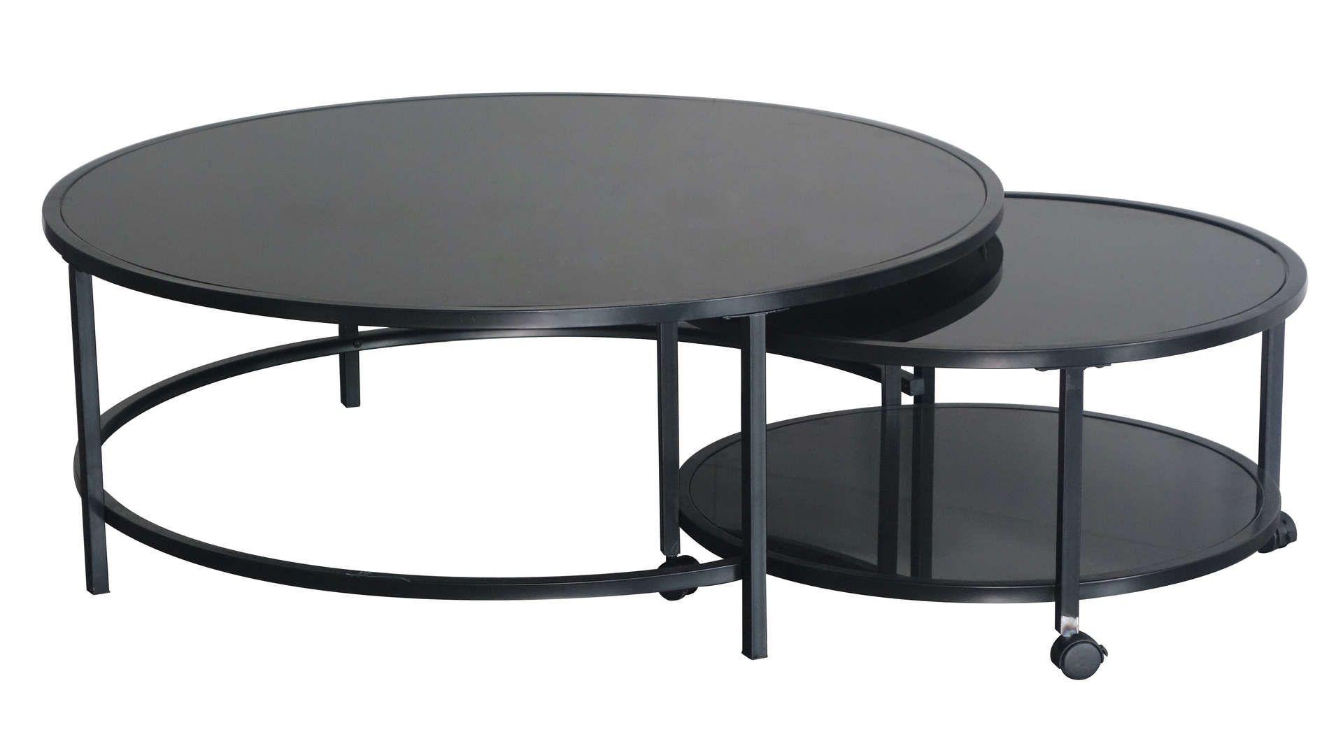 Table Basse Logan Coloris Noir En 2020 Table Basse Mobilier De