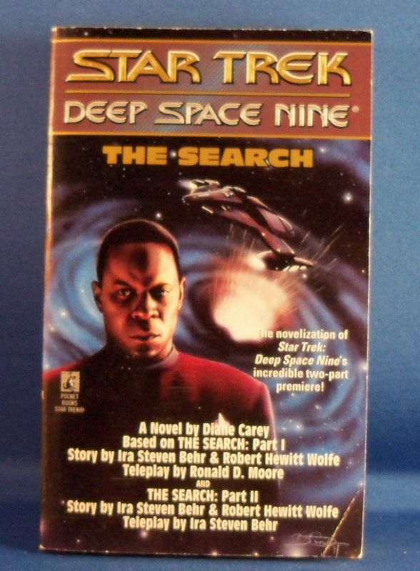Star Trek: Deep Space Nine The Search by Diane Carey (paperback)