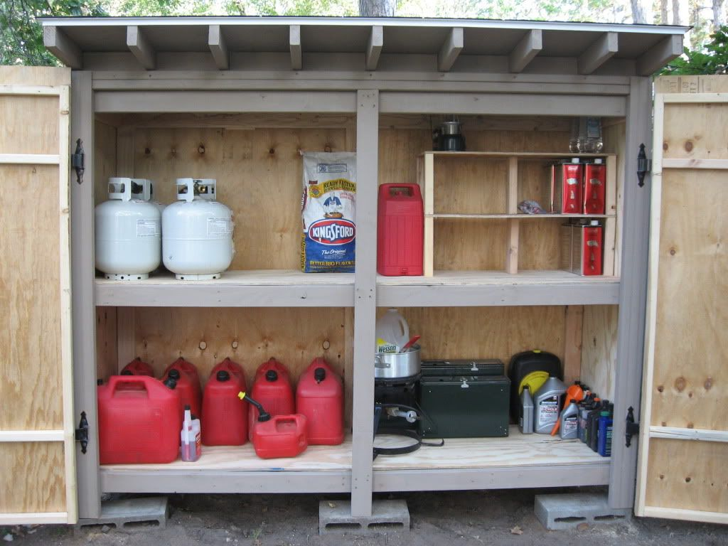 How Much Dry Gas Can You Put In A Tank Of Fuel Ar15 Com >> Fuel Storage Shed Ar15 Com Garage Shed Storage Storage Yard