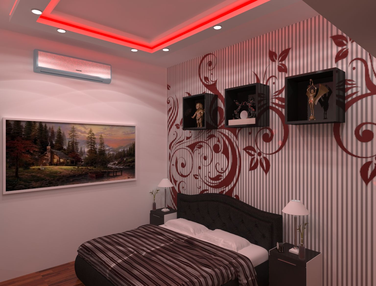 Home Interior Design Work Done In 3ds Max And V Ray Interior