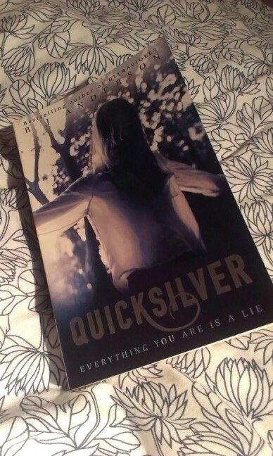 Book. Quicksilver by R.J Anderson yay finally got it