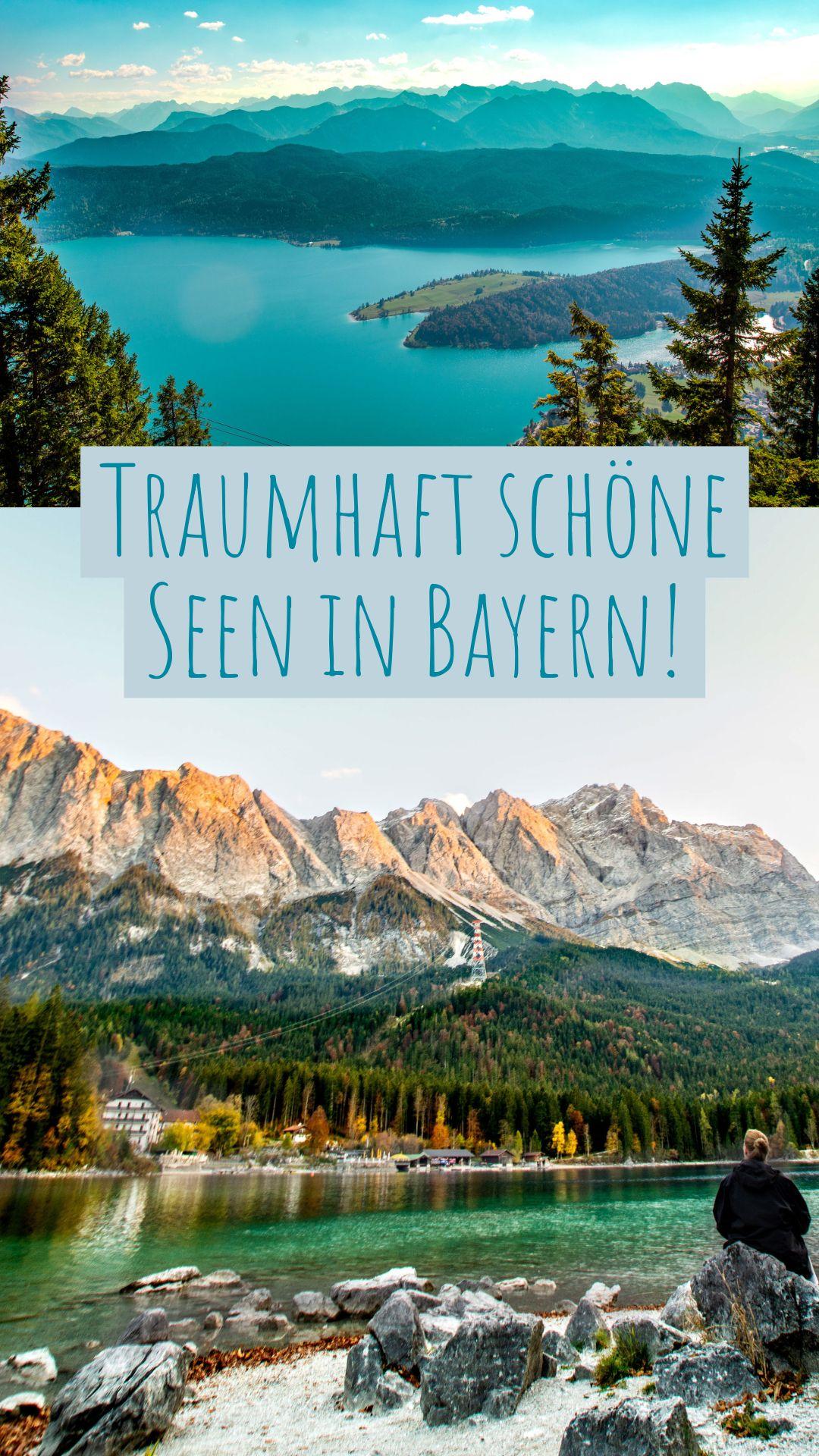 Die Fur Mich 4 Schonsten Seen In Bayern Sophias Welt Seen Bayern Reiseziele Reisen