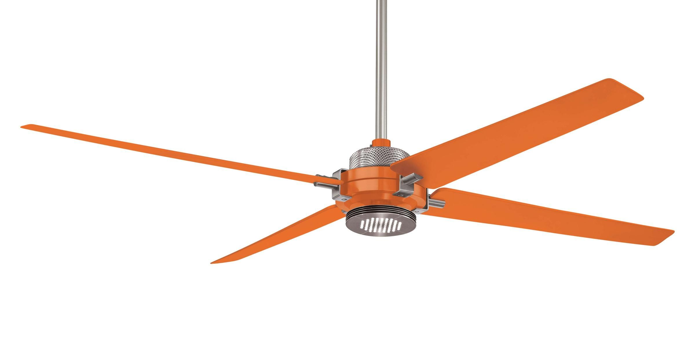 Minka Aire Spectre Ceiling Fan F726 Bn Org In Orange With Brushed Nickel Guaranteed Lowest Price Minka Aire Ceiling Fan Minka