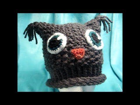 Loom Knit hat (in German)