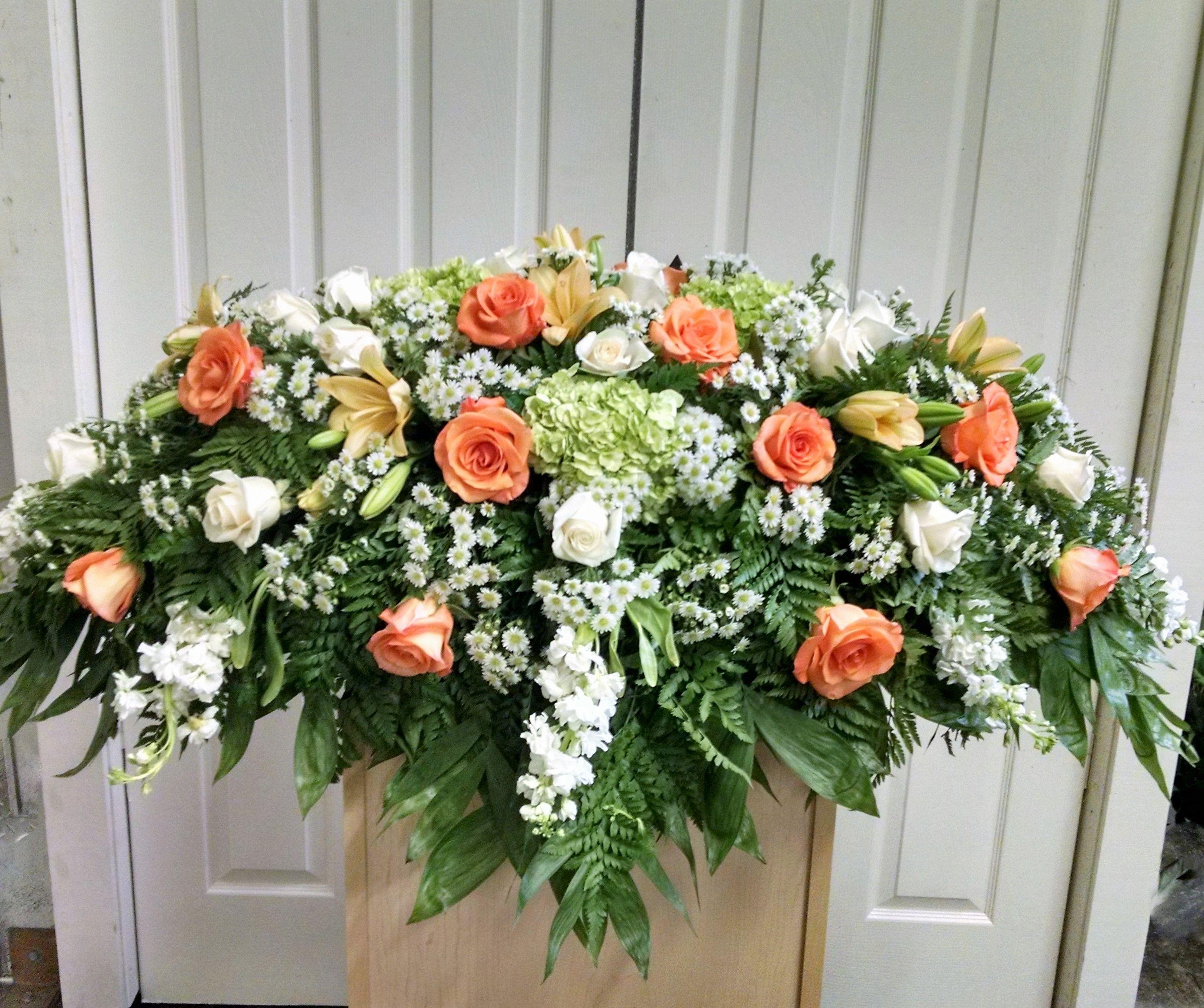 Pin by eric morgan on funeral casket flowers in 2018 pinterest casket flowers funeral caskets flower delivery casket sprays memorial flowers order izmirmasajfo