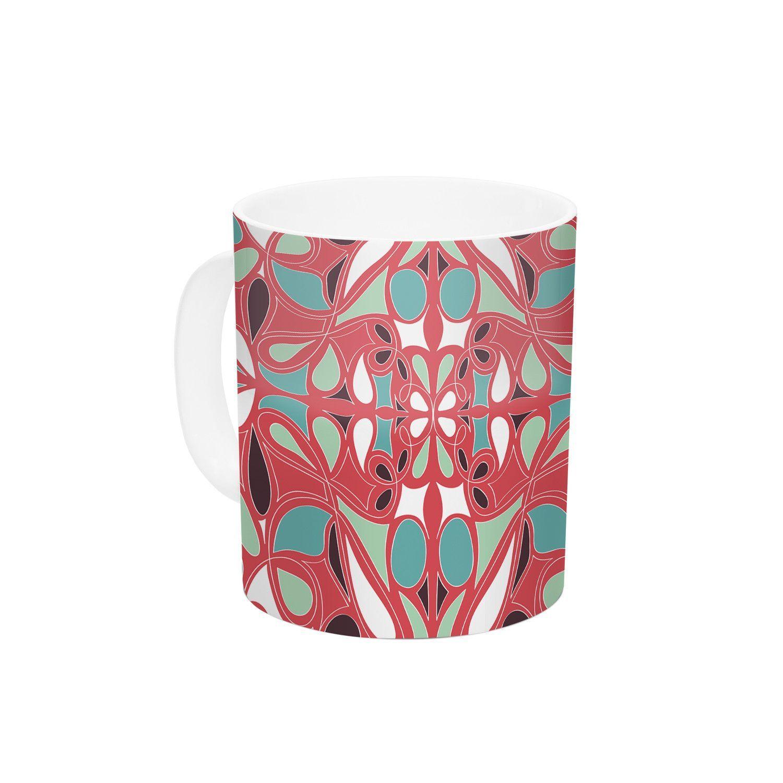 Stained Glass by Miranda Mol 11 oz. Ceramic Coffee Mug