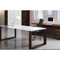 Escritorio minimalista cristal muebles de oficina for Muebles oficina minimalista