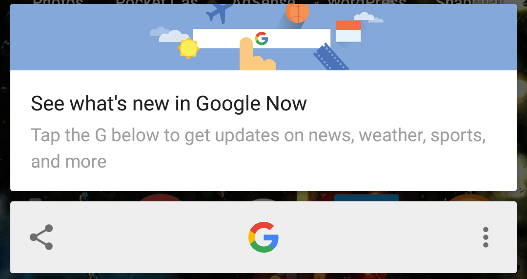 Latest Google app beta adds OCR image recognition to Now