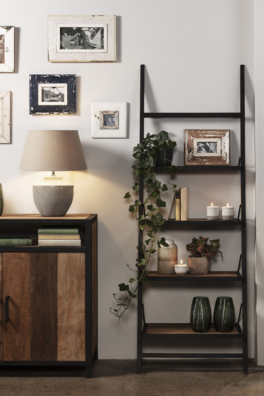 super cute caec2 bc739 Baxter Light Teak Ladder Bookcase   Baxter Collection ...