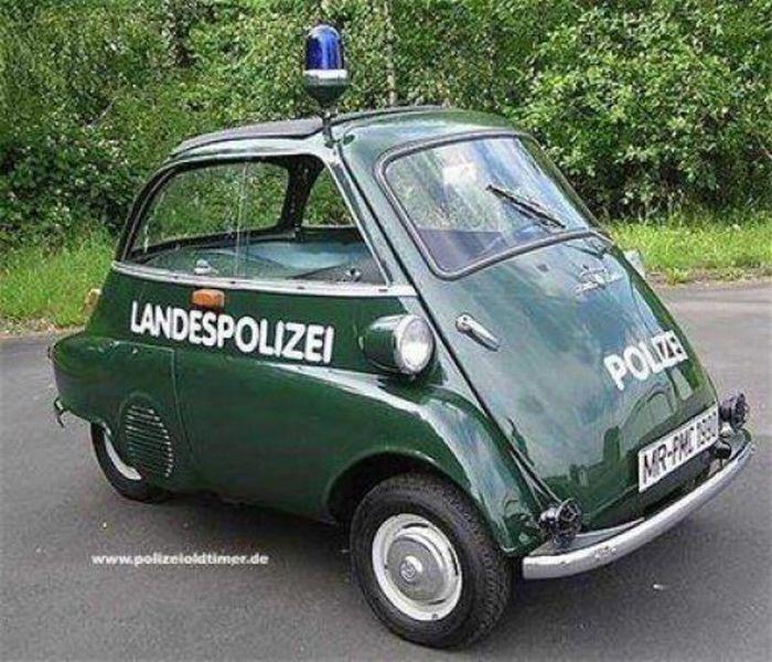 Curiosities: Weird Police Vehicles