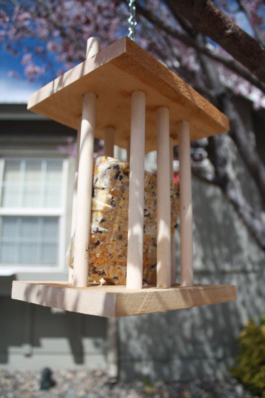Check it out! Spring time suet bird feeder made from cedar wood in Sparks, Nevada on Krrb!