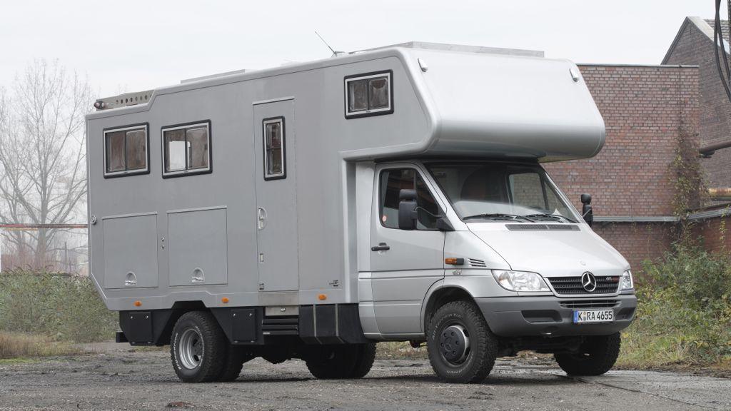 orangework mercedes sprinter 616 cdi 4x4 camper. Black Bedroom Furniture Sets. Home Design Ideas