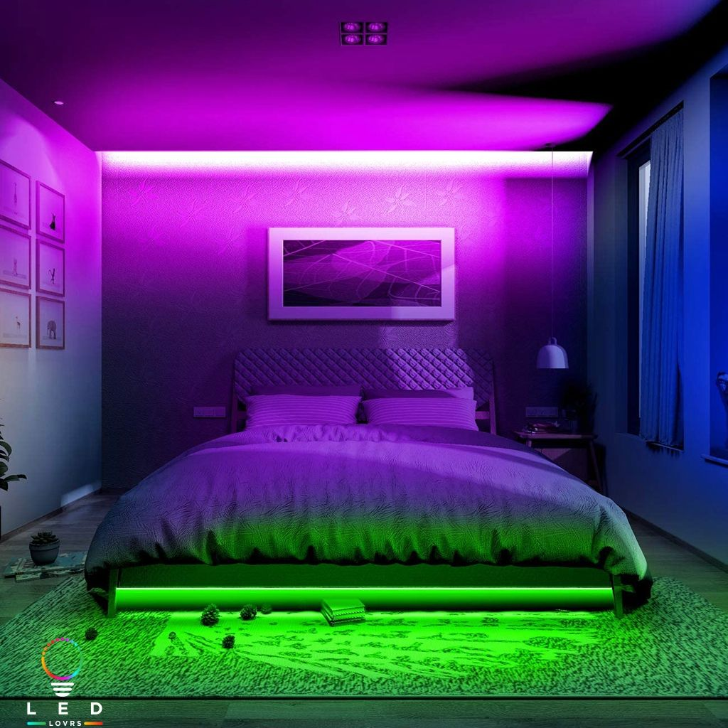Dream Gaming Setup Lighten Up The World With Our Smart Modern Aesthetic Led Lights Elevate The Vibe And Aesthetic Of Your Space With L Slaapkamer Slapen