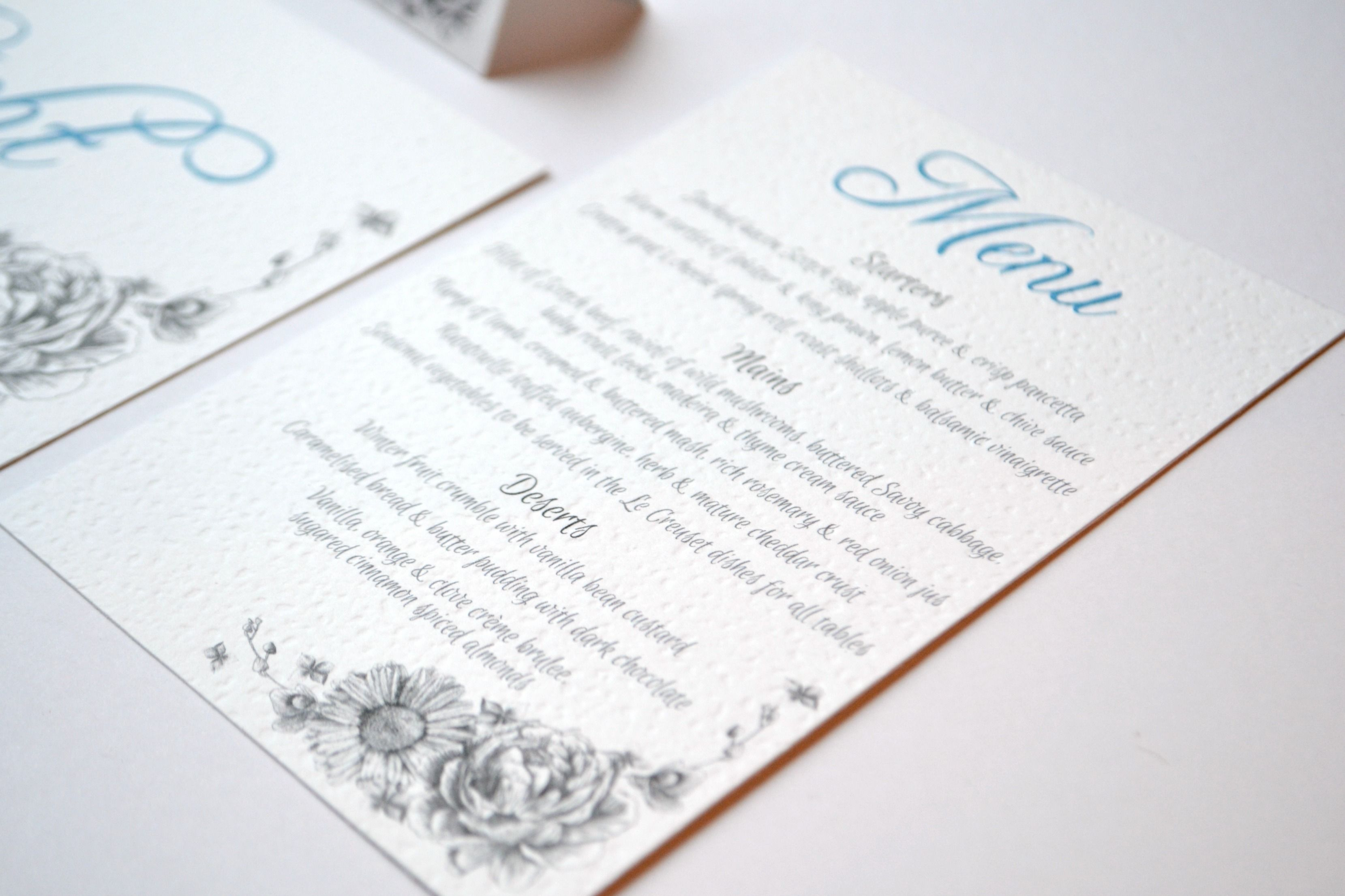 Grace & Bramble | Classical Wedding Stationery
