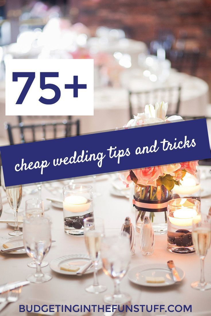 Wedding budgets can get out of control in a hurry. I love