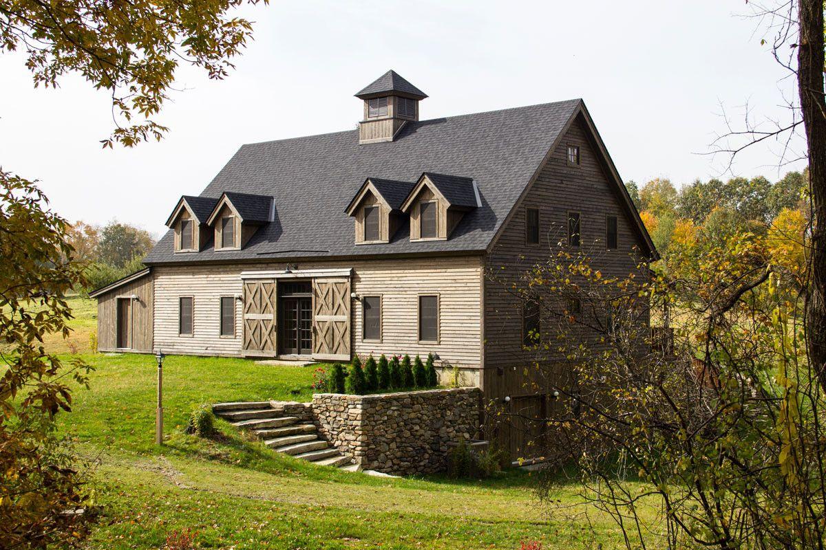new england barn style home exterior | Barn style house ...