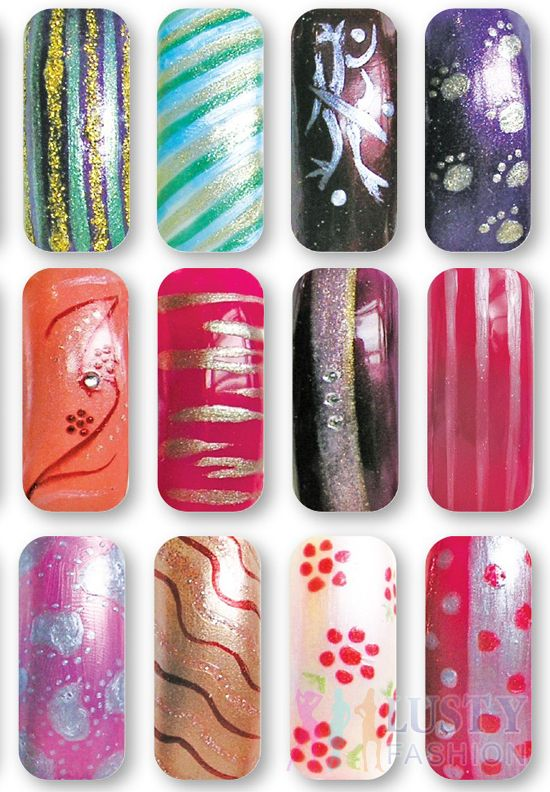 nail art pens | Nail Art by Barbara Ellis | Pinterest | Nail art pen ...