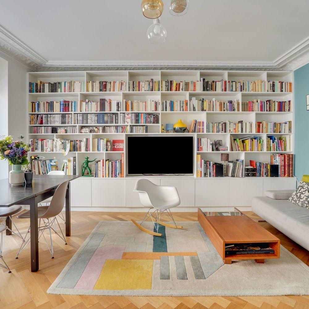 Appartement Paris 10 90 M2 Renoves Et Plus Modernes Appartement Decoration Maison Appartement Paris