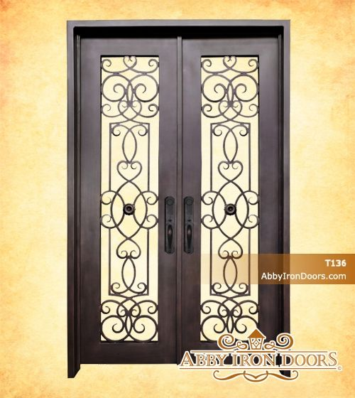Abby Iron Doors & Abby Iron Doors   For the Home   Pinterest   Iron and Doors pezcame.com