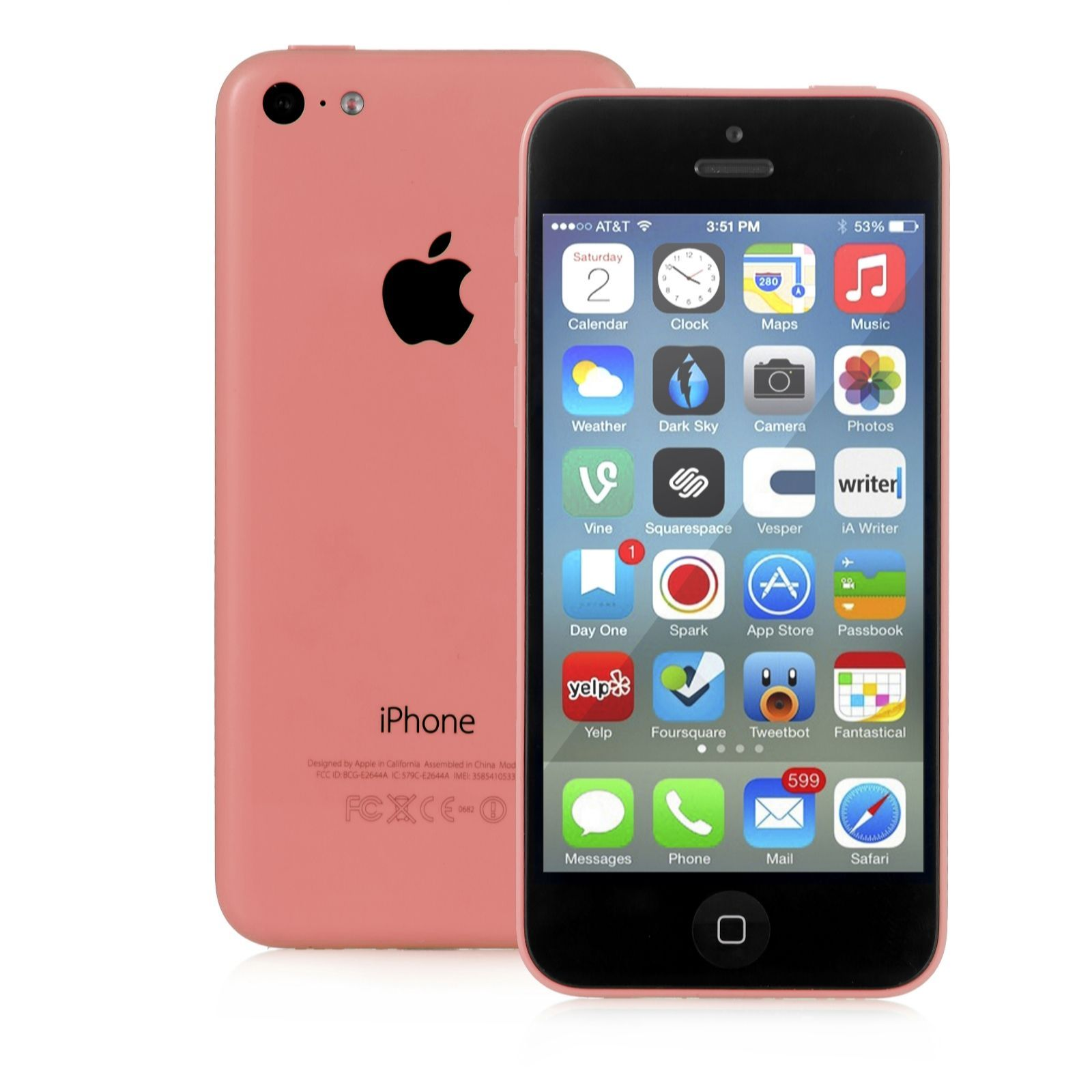 "508727 Apple iPhone 5C with 4"" Display 8GB Storage"