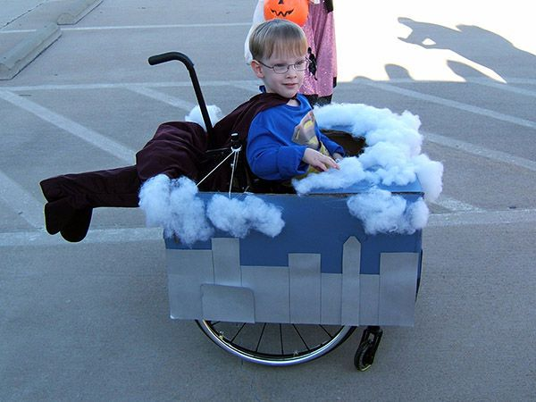 This Mom Makes Fantastic Halloween Costumes for Her Son in a Wheelchair