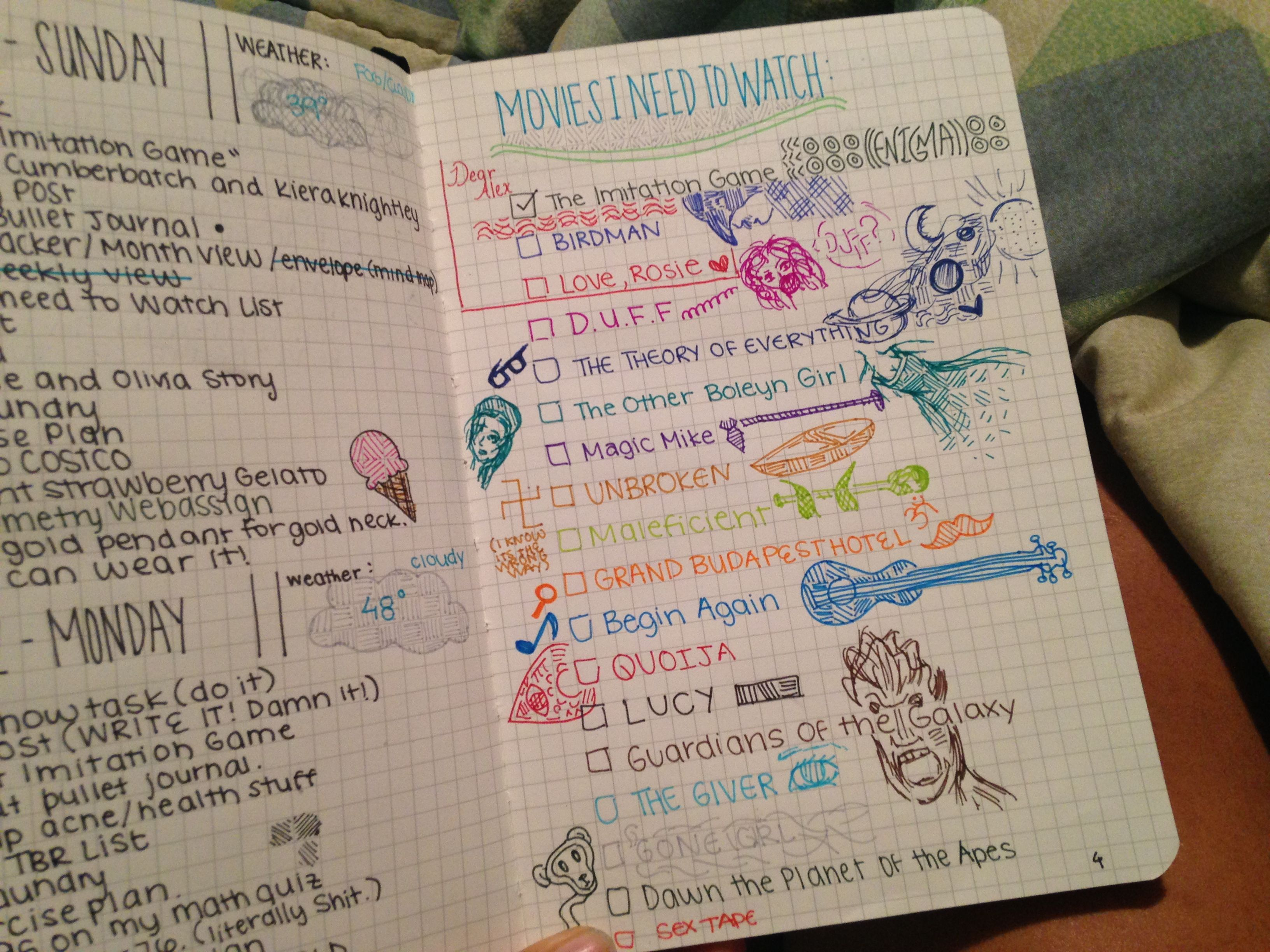 Bullet Journals And Life Fixing