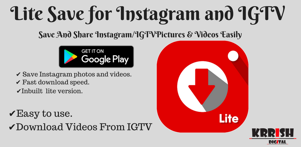 app to download instagram pics and videos