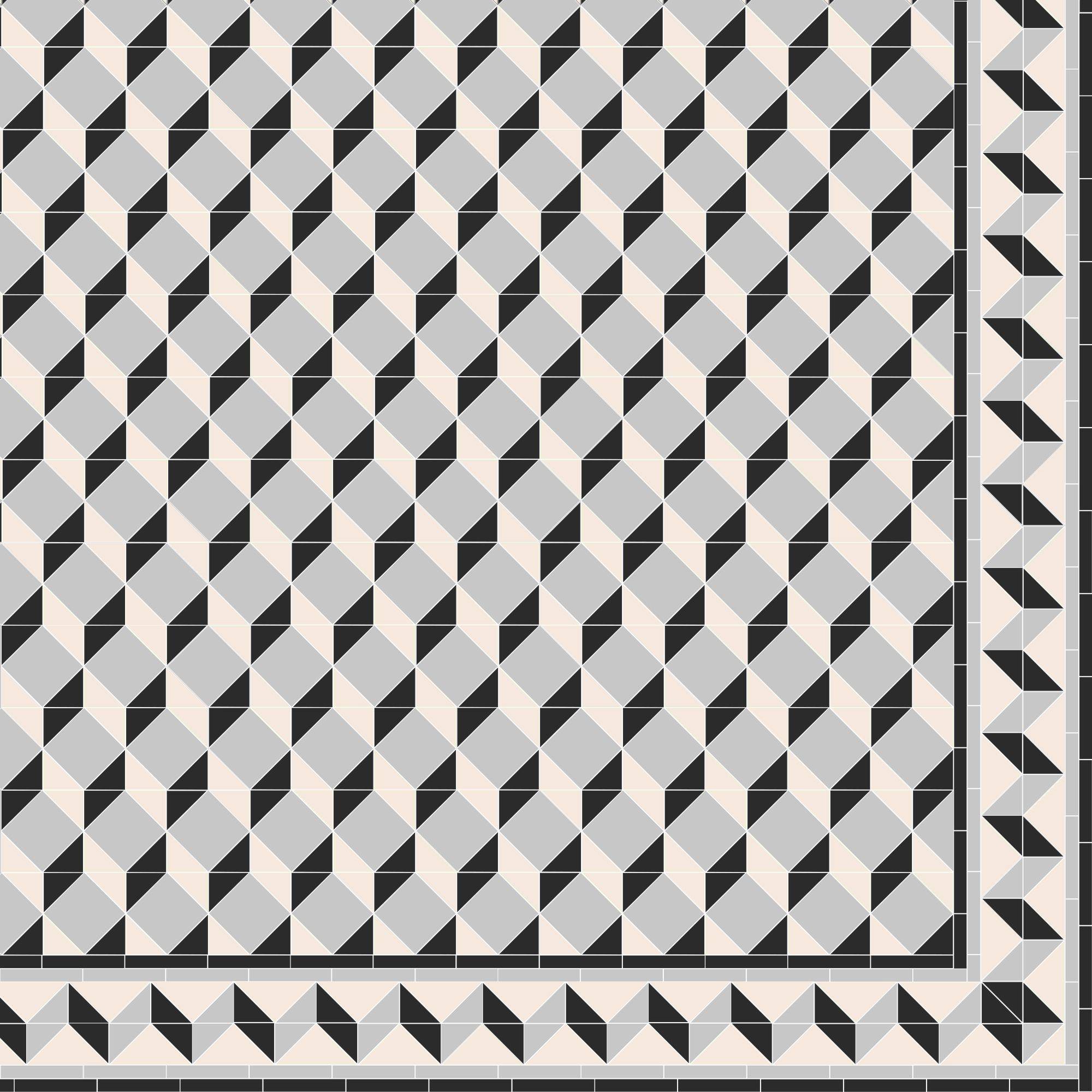 Create your own Art Deco inspired pattern like this one, which was ...