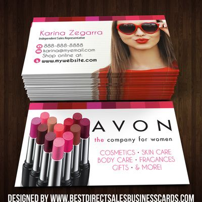 Avon Business Cards Style Thumbnail My AVON Business - Avon business card template
