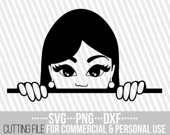 Download Peeking Girl Svg Back To School Africa Layered Svg Ruler Svg Peek Cuttable Vector Files Silhouette Instant Download File For Cricut Clip Art Art Collectibles