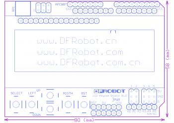 教學 (arduino):lcd keypad shield (sku: dfr0009) robot wiki.