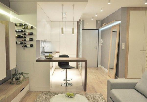 Möbel Ideen Schlafzimmer Schrank weiß matt Holzregale