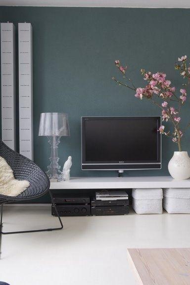 muurkleur | slaapkamer | Pinterest | Serenity, Interiors and Lights