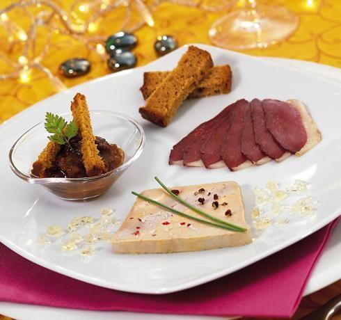 assiette de foie gras et magret de canard , Recherche Google