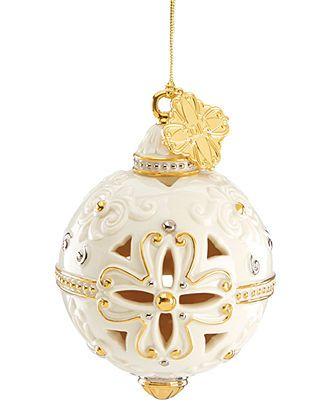 Lenox 2014 Annual Spire Snowflake Ornament Christmas Ornaments Holiday Lane Macy S Christmas Ornaments Lenox Christmas Ornaments Lenox Christmas
