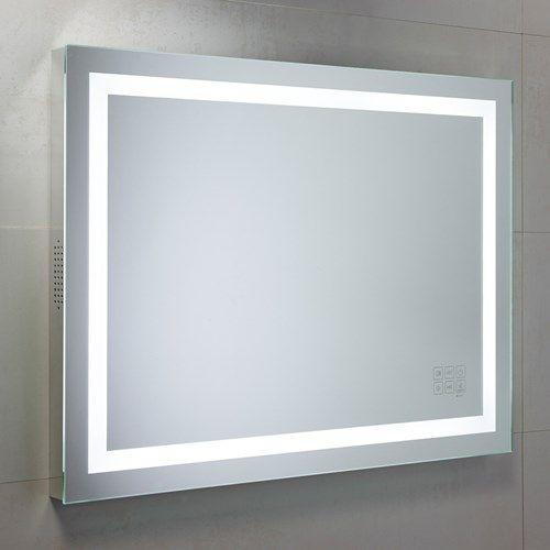 Roper Rhodes Beat LED Illuminated Motion Sensitive Bluetooth Bathroom Mirror With Demister Pad
