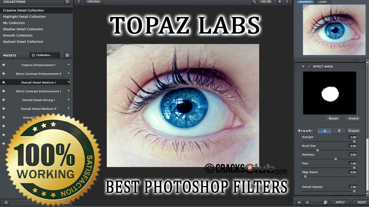 topaz photoshop plugins bundle key