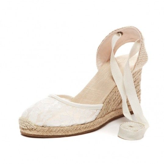 674f85c0a389 Chantilly Lace Tall Wedge White Espadrilles