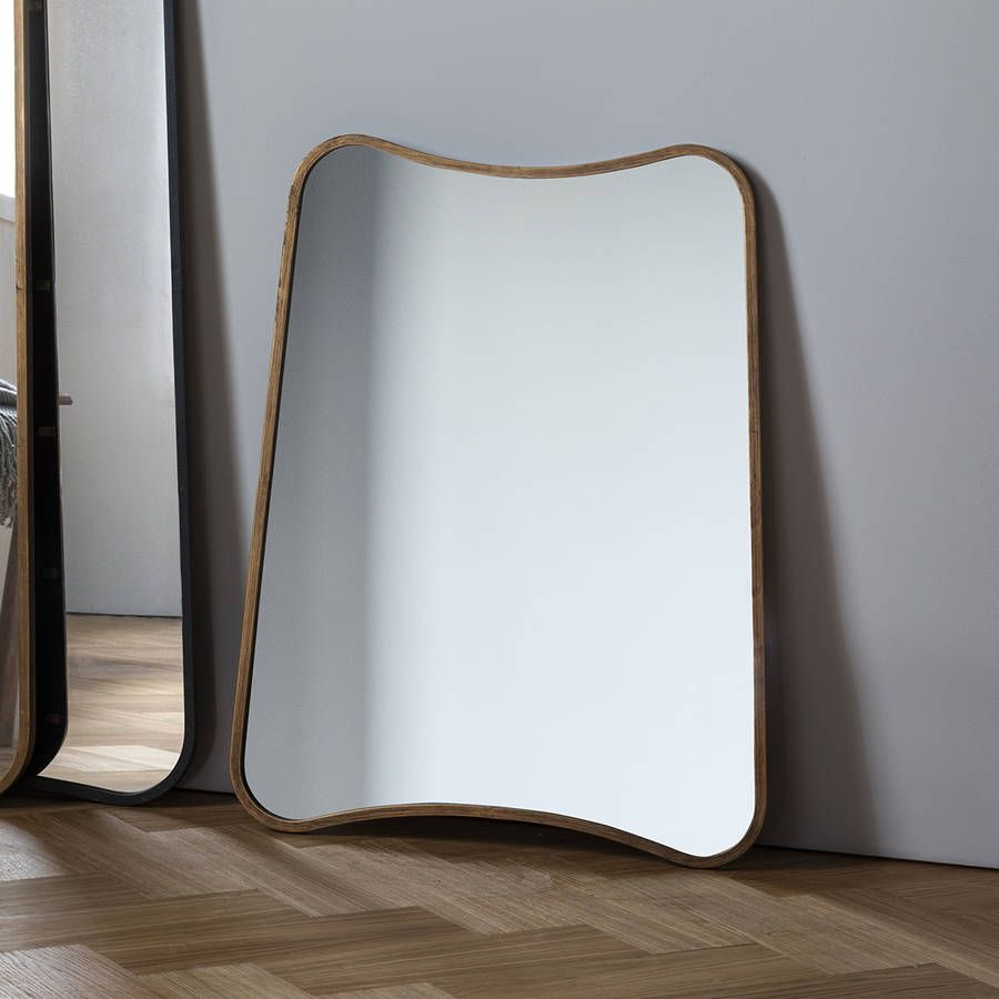 Wall Leaning Mirrors curved wall or leaning mirror | curved walls, walls and entrance halls