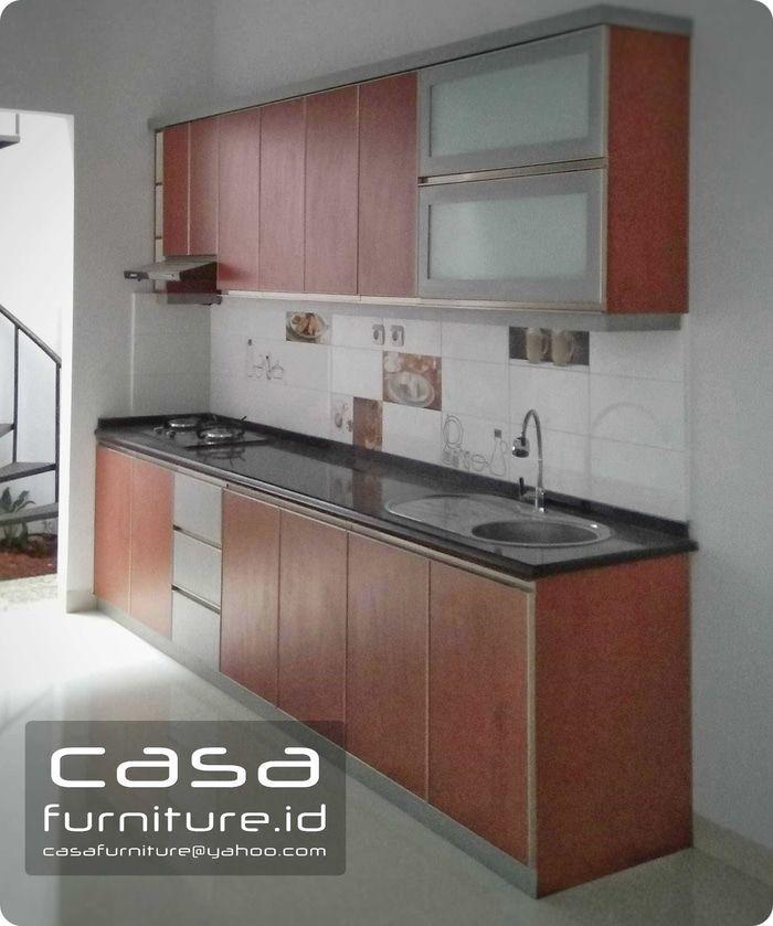 Kitchen Set Minimalis Top Table Granit Panjang 3 Meter