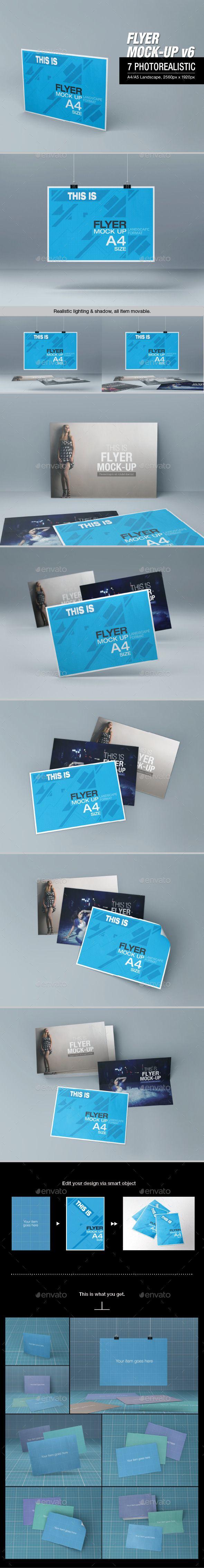 Flyer Mock-up | Imagen Corporativa | Pinterest | Inspiración