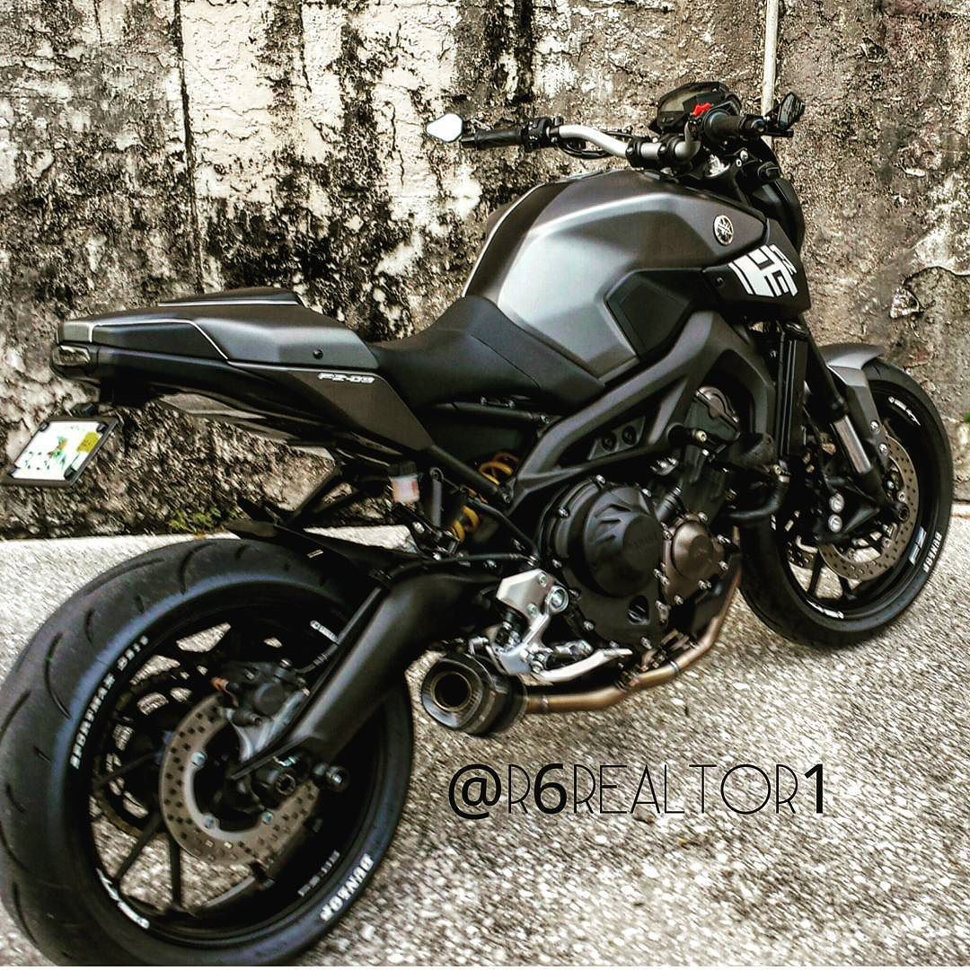 Led Fz07 Mt07 Fz09 Happy Motorcycle Sportbikelife Exhaust