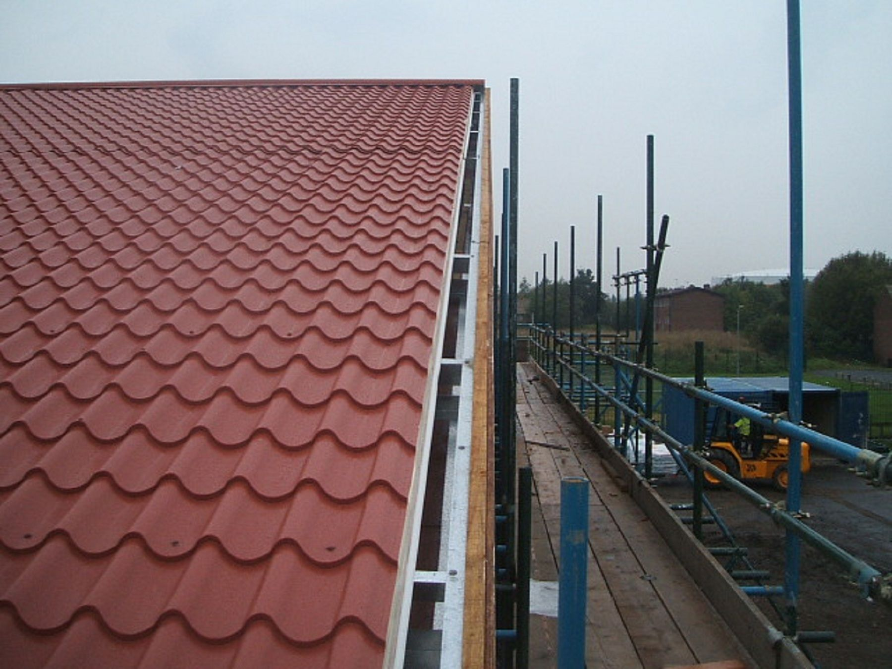 Effect Roofing Sheets Metal Tile Effect Roofing Roof Architecture Roofing Metal Roof