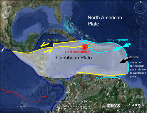 united states fault lines maps | Fault Lines in the Caribbean. Map ...