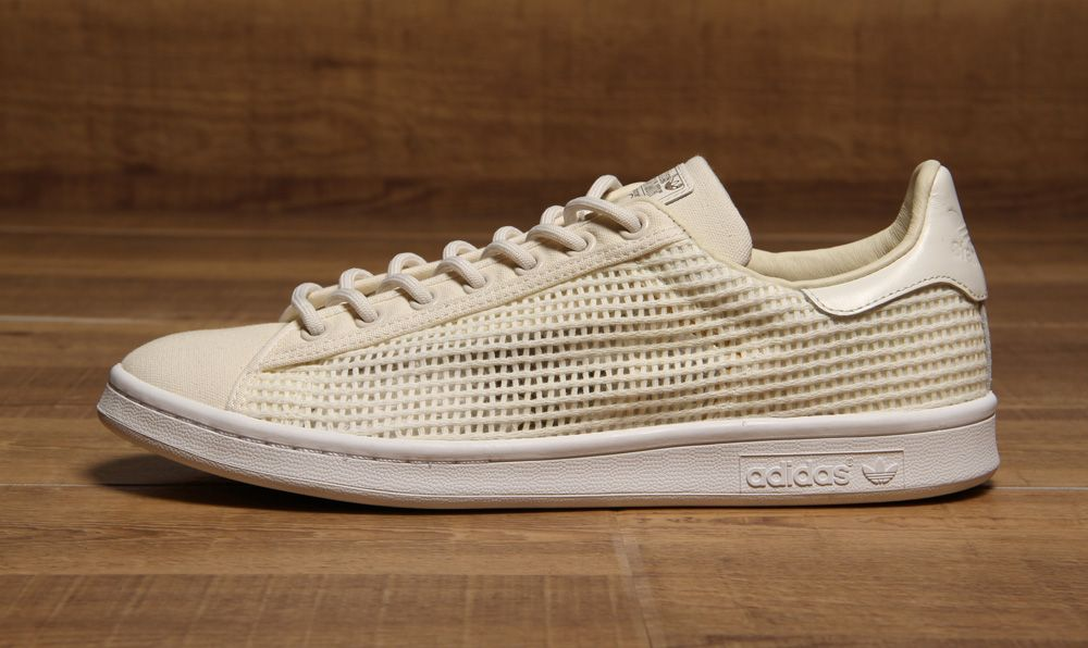 Adidas Stan Smith Woven BeigeWhite | Adidas originals stan