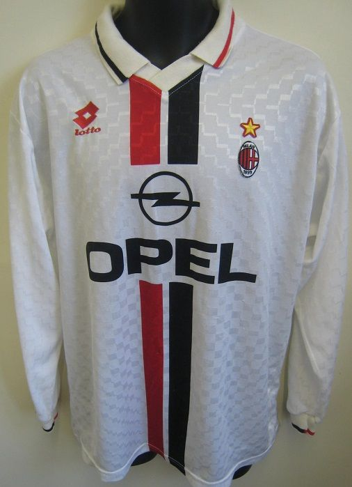 26580eb0c3b Nice 90s AC Milan shirt by Lotto