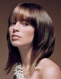 Cortes de cabello con fleco modernos