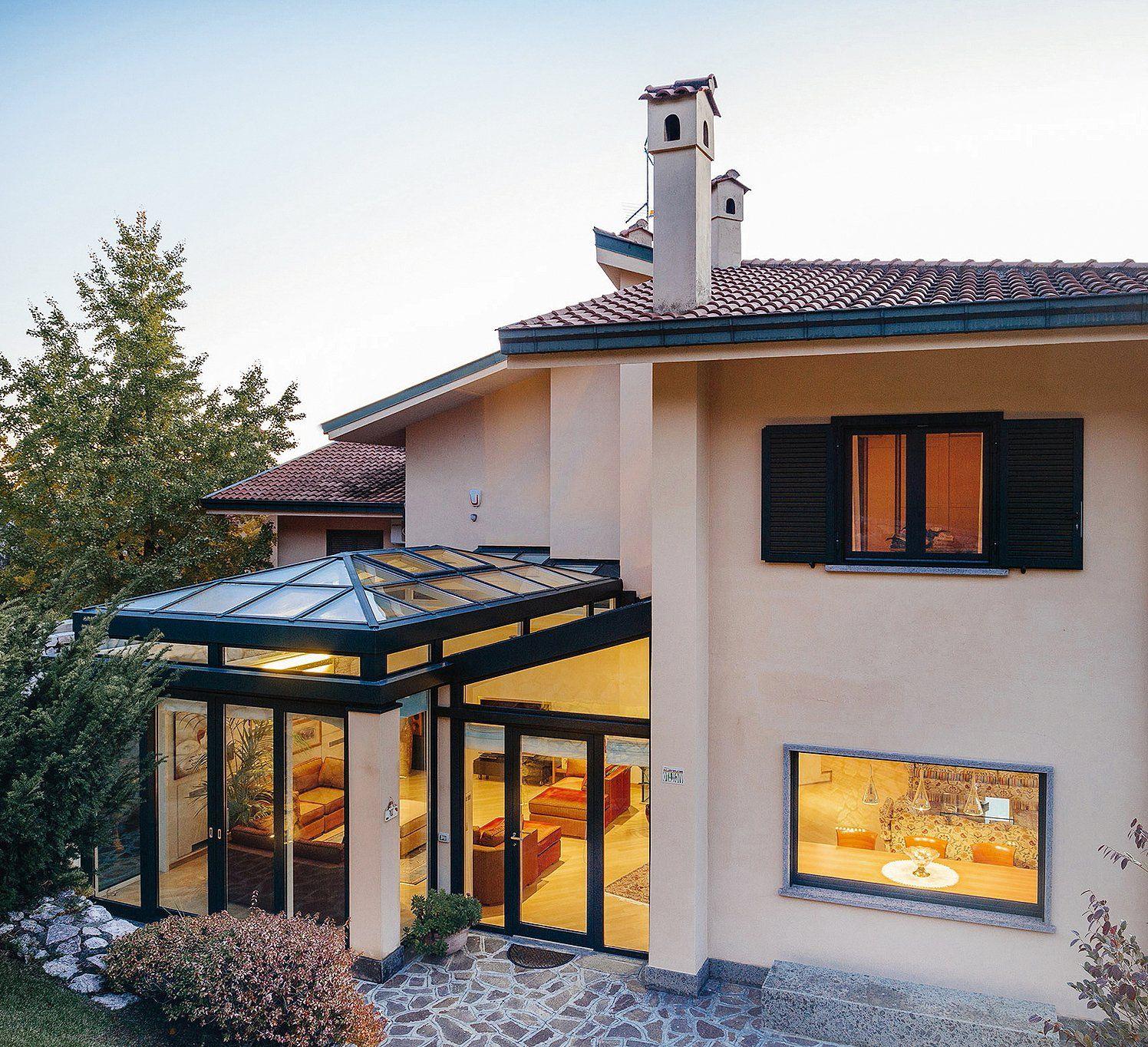 Vetrate e finestre per la veranda sistemi componibili patios - Isolante per finestre ...