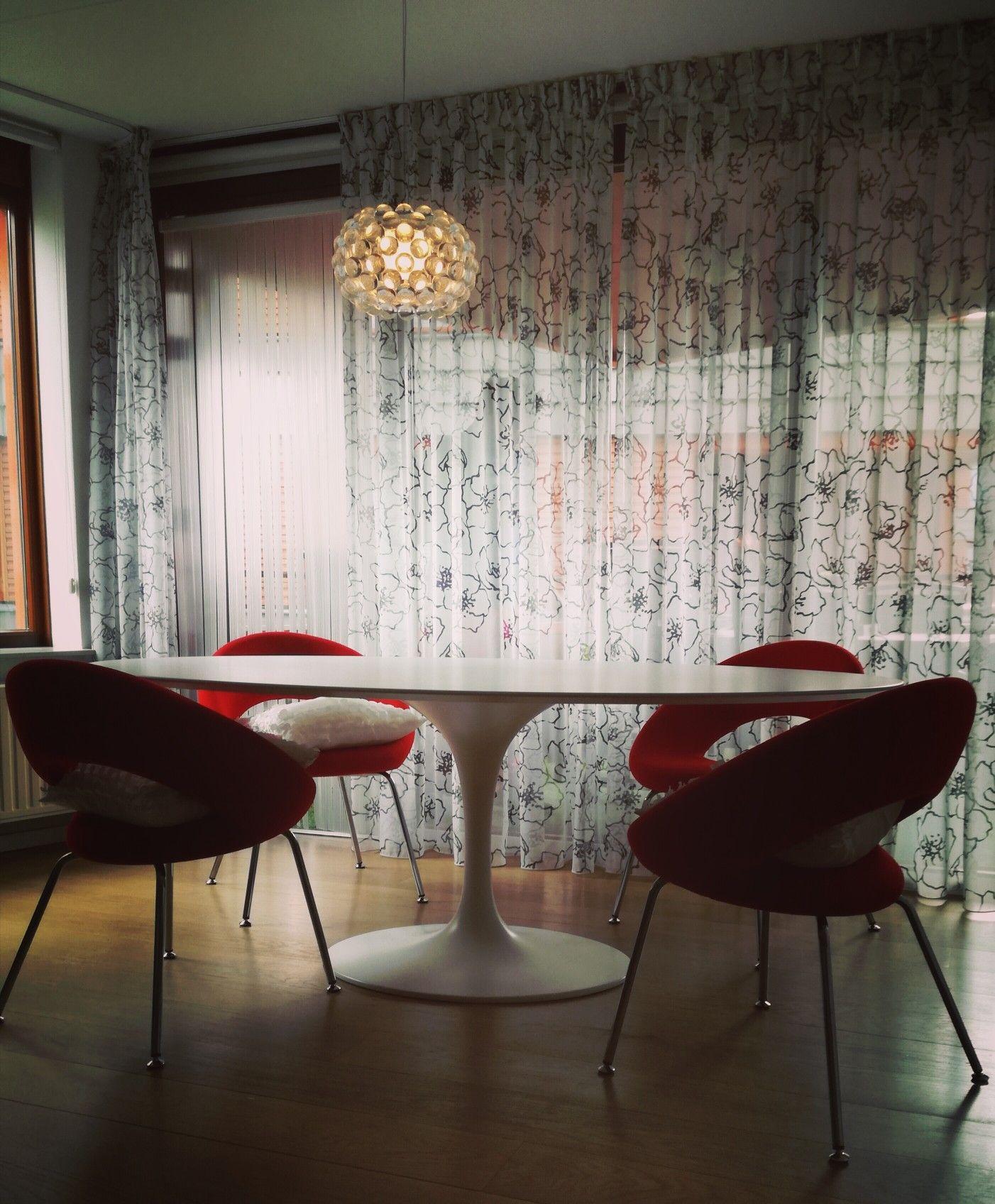 Innenarchitektur außerhalb tulip table blanc matt  haus  pinterest  haus