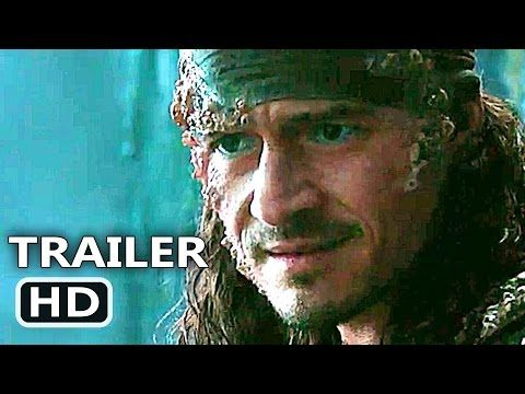 Pirates Of The Caribbean Dead Men Tell No Tales Will Turner Pirates Of The Caribbean 5 Will Turner Trailer 2017 Dead Men Tell No Tales Disney Movie Hd Pirates Of The Caribbean Disney Live Action Movies Fantasy Movies